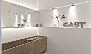 Gäste-WC einrichten