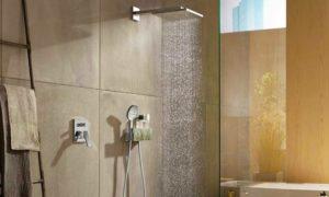 Unterputzamaturen in der Dusche